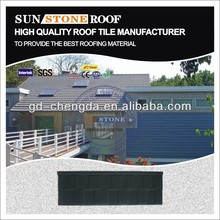 Roofing shingles asphalt material stone coated roofing