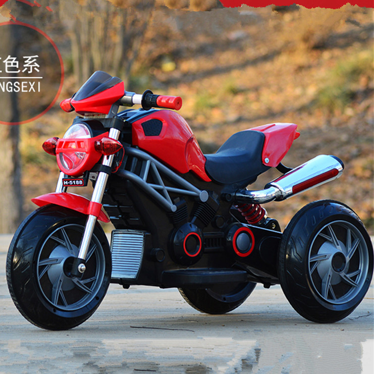 2016 hot selling kids electric motorcycle style bike toy car for kids/toy kids car