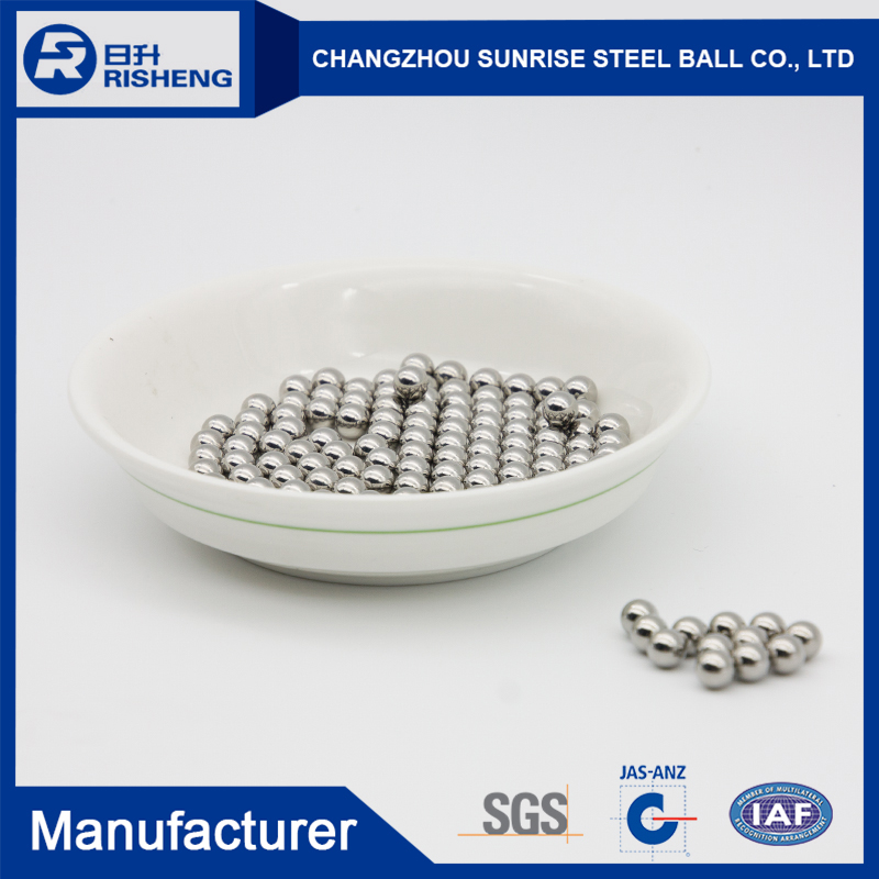 High quality AISI1085 4mm 4.76mm magnetic chrome steel ball for bearing