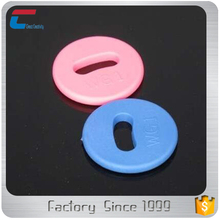 PPS Material HF /UHF RFID Laundry Clothing Tags For Identification and Tracking