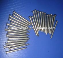 Flat head aluminum nails