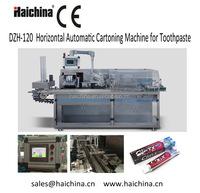 DZH -120 Carton Box Packaging Machine/small manufacturing machines/toothpaste packing machine china supplier