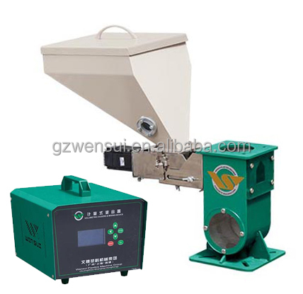 volumetric doser for color master batch/mixing machine