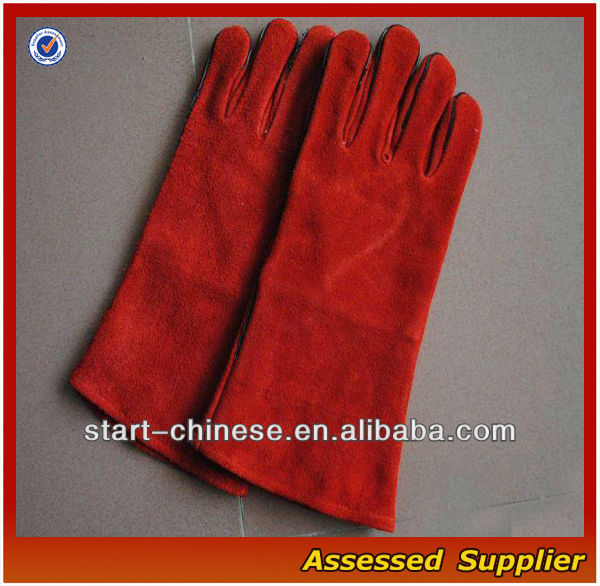 XMJ-166 Newly Welding leather hand gloves/Leather Welding Gloves/Welding Gloves