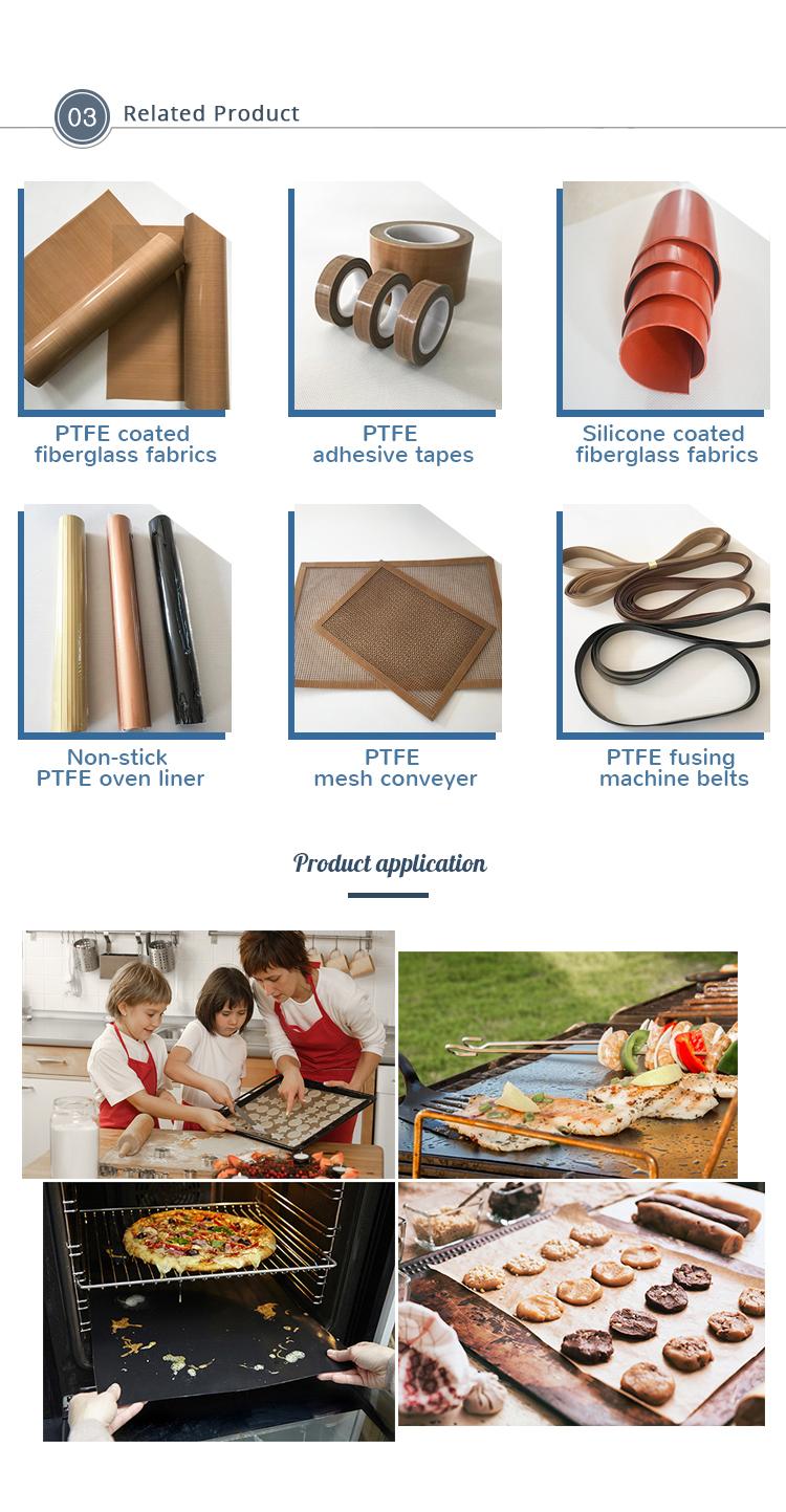 DJ Promotion haute qualité Téflon tissu de fibre pour empêcher l'égouttement sauces gaz top protecteurs