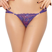 Four colors double straps woman sexy g string
