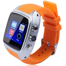2016 New Model Watch Mobile Phone Android Dual SIM X01 Smart Watches Ladies Cool Color Waterproof