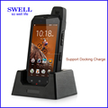 telefonos moviles 2017 construction glonass rugged phone WDF0638 with 4G+64G wireless charging 4200MAH removable battery
