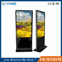Android 4.4.2 Touch Screen 55'' Floor Stand AD Player