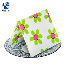Good qualtiy digital fabric dish digital printed cleaning cloth