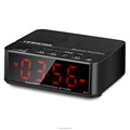 Hot Wireless Bluetooth Built in lithium battery alarm clock with radio