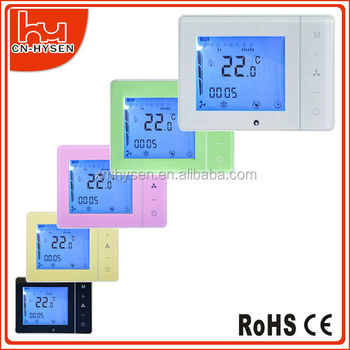 touch screen fan coil thermostat deluxe bacnet thermostat buy deluxe bacnet thermostat fcu. Black Bedroom Furniture Sets. Home Design Ideas