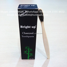OEM All Natural Tooth Paste with Bamboo Charcoal for Teeth Whitening from Toothpaste Factory