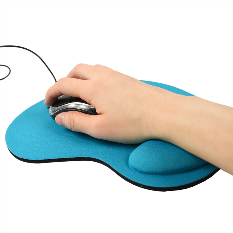 Hot Sale Fashion Foot Style Comfort Wrist Computer Mouse Mats