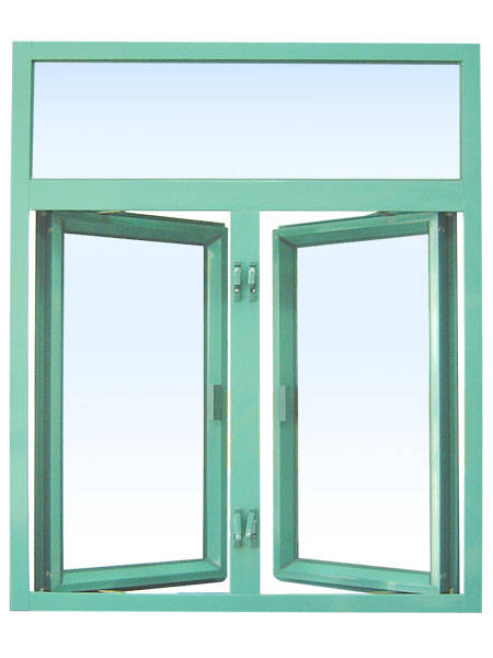 K70D Series Aluminum Profile Hinged Window Designs tempered glass with certificates