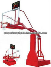 FIBA Manual hydraulic removable basketball stand