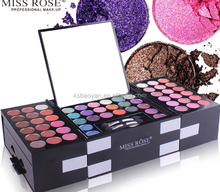 2018 Miss rose Cosmetics the best quality 144 colors eyeshadow wholesale the best make up eyeshadow 2 in 1