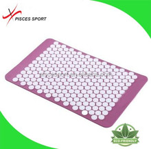 2016 the most popular plastic spike acupressure mat and pillow set for acupuncture