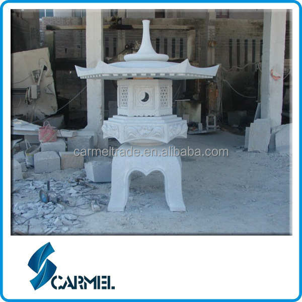 Granite stone garden products granite lantern