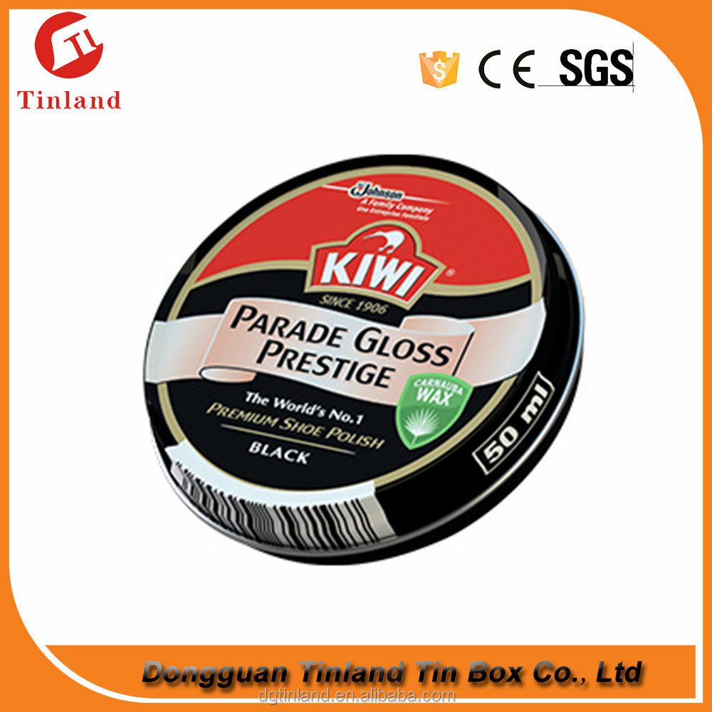 Shoe Polish Tin Can Packaging