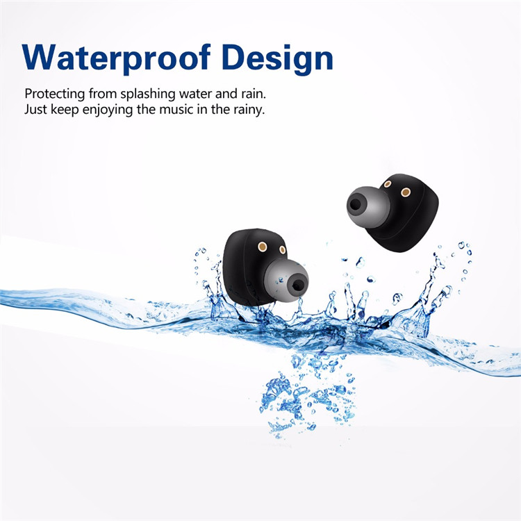 GlobalCrown S2 TWS 5.0 True Wireless Earbuds With Power Bank IPX7 Waterproof Stereo Sport Earpiece