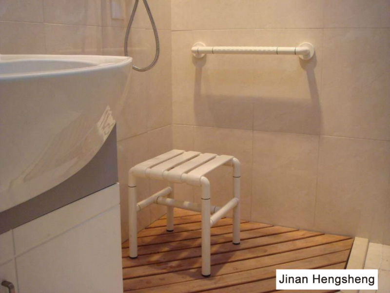 Fold Up Shower Seat Wall Mounted Shower Bench Teak Shower
