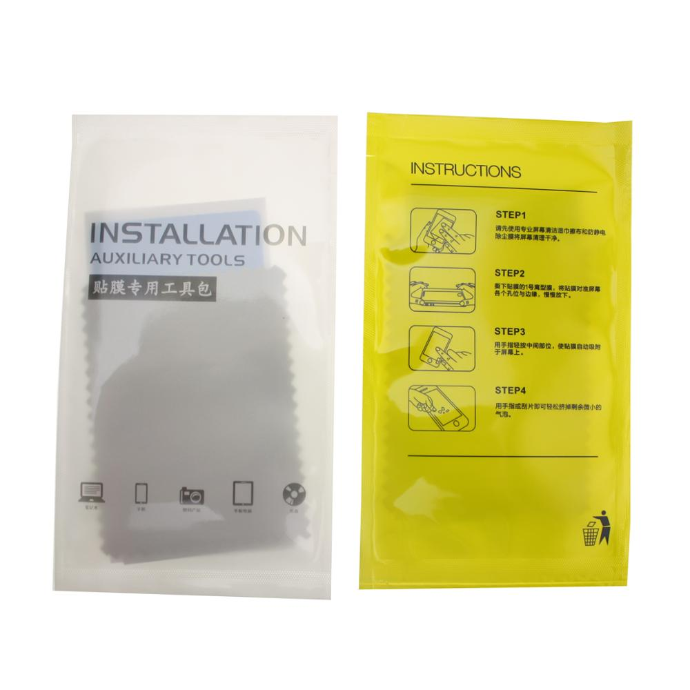 installation tool for screen including dust remover sticker