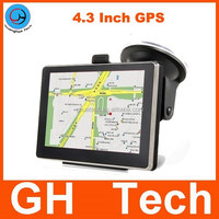 4.3 inch gps navigation MTK 4GB support Russia/ Canada/ USA/ Mexico/ Brazil/ Europe Newest maps and languages