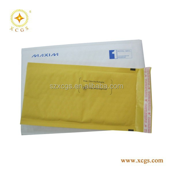 Air Bubble Cushioned kraft paper envelopes ,Kraft Air Bubble envelope