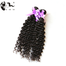 Most popular Large Stock Wholesale Remy Virgin Peruvian Hair Weave Deep Wave Can be dyed Hair extension making machine