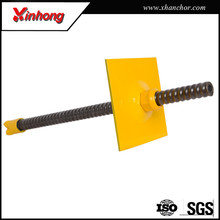 China tunneling roof support 103mm hollow steel threaded rod for civil constructions