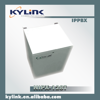 Switch accommodates E1/Magnet/PRI/E&M/VOIP trunk. Hybrid PBX with various interface fulfill tele network.