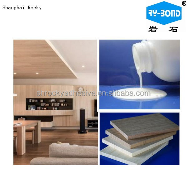PU adhesive wood use white emulsion glue for vacuum membrane press machine