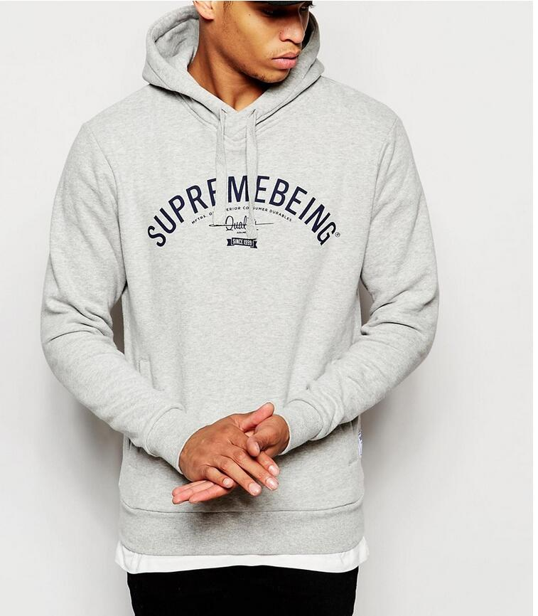 Cheap OEM Custom Made Printed Cotton Slim Fit Pullover Hoodies