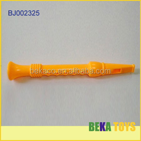 Chenghai plastic toy factory cheap small plastic toy flute for kids