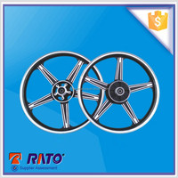 Chinese factory wholesale 125cc cub motorcycle alloyed wheel