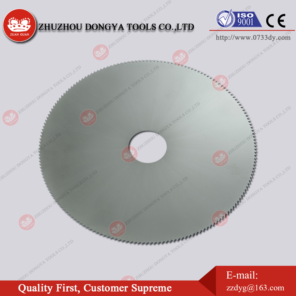 Cemented carbide saw blade high bending resistance milling cutters