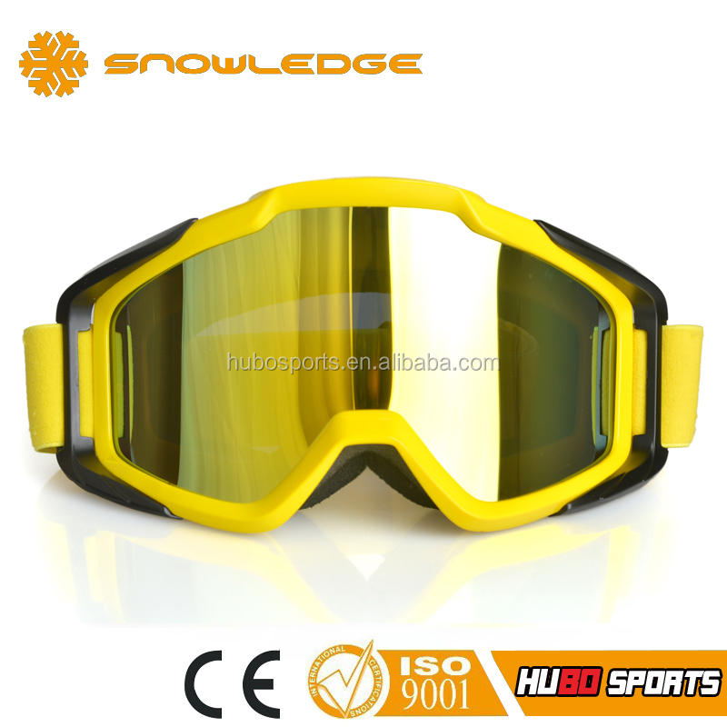 Super comfortable motorcycle goggles with nose guard