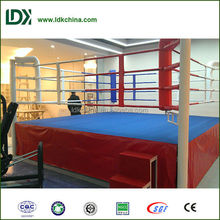 2015 hot sale durable gymnastic equipment boxing ring for competition