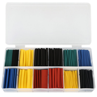 328PCS PE Material and Insulation Sleeving Type assorted non-slip heat shrink tubing set