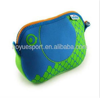 Cute waterproof beautiful neoprene cosmetic or hanging toiletry bag