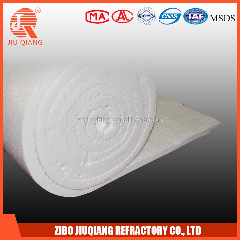 Refractory thermal insulation aluminum silicate fiber pipe