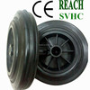 200*50 garbage bin wheels and axles 200*50 trash bin wheels and axles 200mm solid wastbin wheel