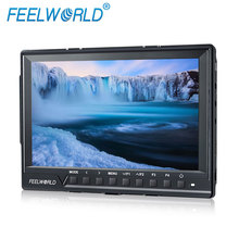FEELWORLD 7 inch 1920*1200 full hd lcd monitor size smallest dslr with hdmi inputs