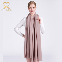 High quality winter ladies warm stoles 100% cashmere shawl capes pure mongolian cashmere scarf with short tassel