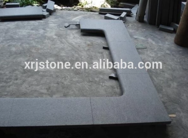 Outdoor decoration pool coping in bluestone or granite slabs for sale