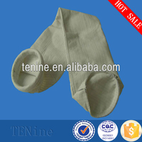 PTFE membrane coated PPS high temperature dust filter bag used for air purification gas cleaning