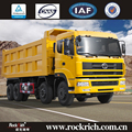 Chinese manufacture heavy truck 60Tloading capacity 12-wheel 8x4 dump truck
