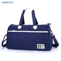 ZZINNA 2015 New Fashion Men Women Large Capacity Outdoors Travel Bag Unisex WaterProof Foldable Luggage Totes Shoulder Bags