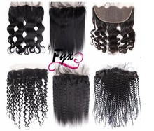 wholesale virgin cuticle aligned human hair ,raw indian hair ,rely hair super thin film hd lace frontal with baby hair